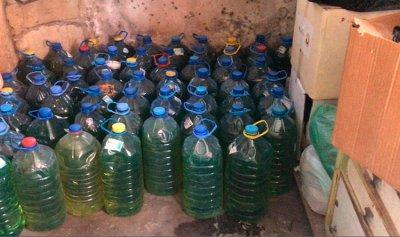 ضبط كمية من مادة البنزين في باب الرمل ـ طرابلس