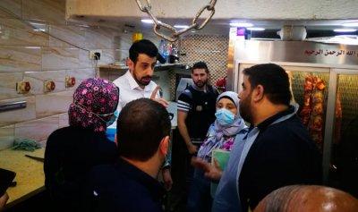 تسطير محاضر ضبط بملاحم سوق العطارين في طرابلس