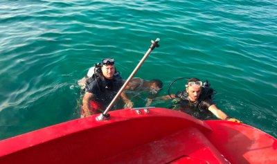 الانقاذ البحري تعمل على إنقاذ 17 شاباً على يخت مقابل شاطئ صيدا