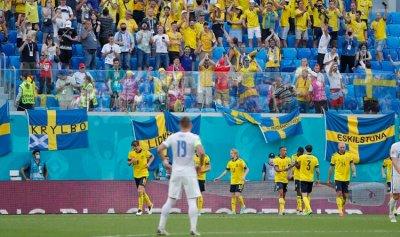 """السويد تحقق فوزها الأول في أمم أوروبا """"يورو 2020"""""""
