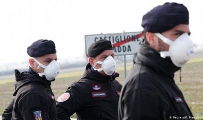 رابع وفيات كورونا واغلاق 11 مدينة إيطالية