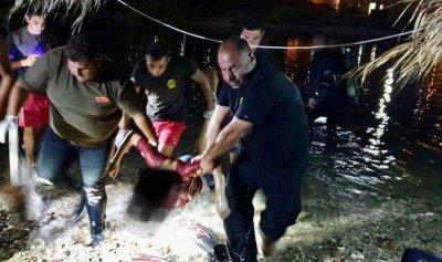 قتيلان غرقا على شاطىء نهر إبراهيم