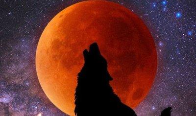 خسوف كلي لقمر الذئب الدموي العملاق في الولايات المتحدة