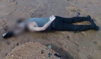 جثة على شاطئ العريضة
