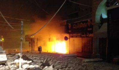 بالصورة: الثلوج تحرق محلاً في بعلبك!