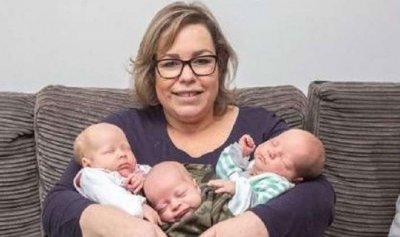 حملت مرتين خلال أسبوع وولدت 3 أطفال!
