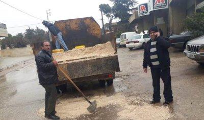وزارة الاشغال تابعت حال الطرق في البقاع