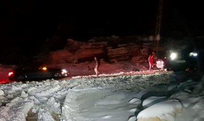 الجليد يعزل جرد الضنية ويغلق المدارس