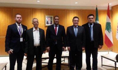 وزير الاقتصاد الموريتاني وصل إلى بيروت
