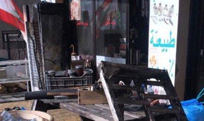 حريق في محل في جديدة مرجعيون