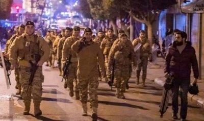 الجيش يقطع الطريق من السوديكو باتجاه وسط بيروت