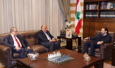 شكري: استقرار المنطقة من مسؤولية لبنان