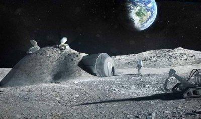 """""""منجم"""" على سطح القمر؟"""