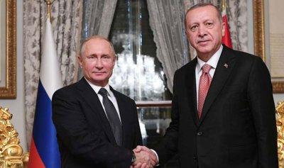 """""""المنطقة الآمنة"""" موضع بحث بوتين وأردوغان"""