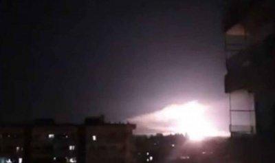 صواريخ اسرائيلية على حزب الله وفيلق القدس في دمشق