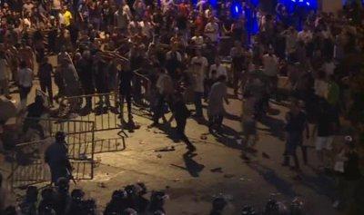 22 حالة اختناق في بيروت