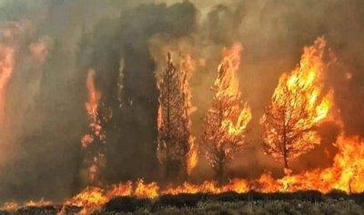 إخماد حريق في بلدة الصوانة الجنوبية