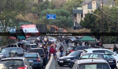"""بالفيديو: 7 جرحى باعتداء مسلّحي """"التيار"""" على متظاهري مزرعة يشوع"""