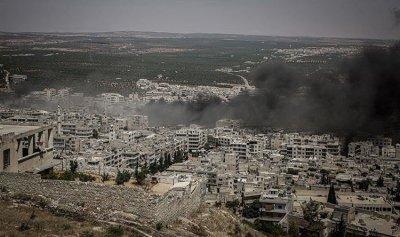 الطائرات الروسية تعاود قصف مناطق إدلب