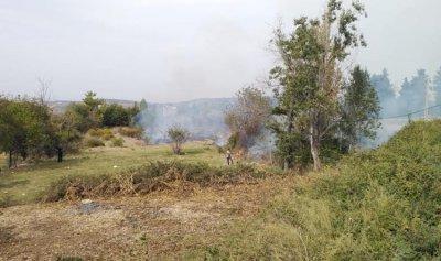 حريقان في إيزال والروضة وإخماد حريق بطرماز