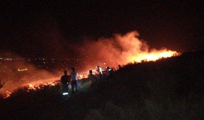 إخماد حريق كبير في فنيدق