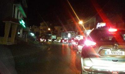 بالصور: قطع طريق نهر ابراهيم