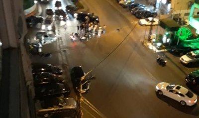 بالصورة: متظاهرون قطعوا طريق الجديدة