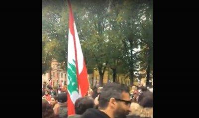 بالفيديو: لبنانيو سويد ينتفضون