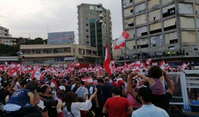 آلاف المحتجين في ساحة النور