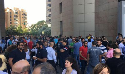 موظفو ألفا وتاتش بدأوا إضرابهم المفتوح