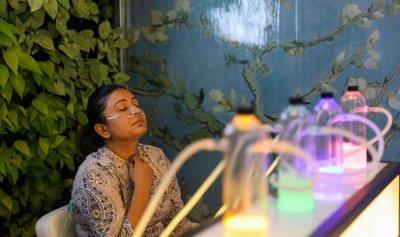 حانة تبيع الأكسجين في نيودلهي