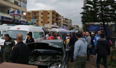 6 جرحى بحادث سير في طرابلس