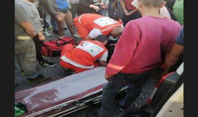 جريحة في حادث صدم على أوتوستراد المنية