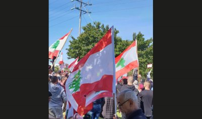 بالصور: ثورة لبنانية في استراليا