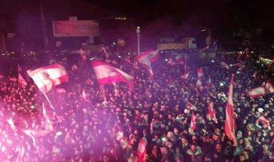 بالفيديو: شتورا تستقبل الآلاف من الثوار