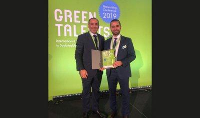 أول لبناني يفوز بجائزة Green Talents Award في برلين