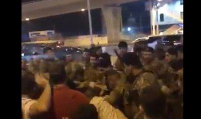 إشكال بين الجيش والثوار ووقوع إصابات في جل الديب