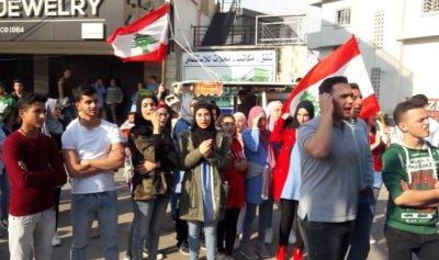 الثوار يقطعون طريق حلبا