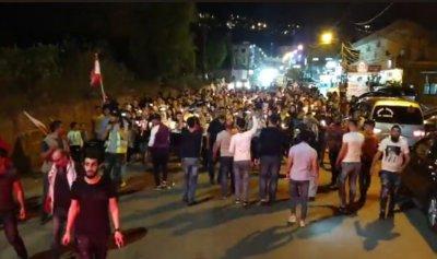 مسيرة شموع جابت شوارع حلبا