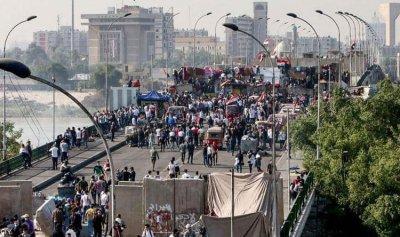إضراب عام يشل بغداد وجنوب العراق