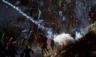 سقوط جرحى إثر استهداف المتظاهرين ببنادق الصيد في كربلاء