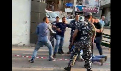 بالفيديو: لحظة القبض على مطلق النار في جل الديب