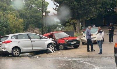 بالصورة: حادث سير في جعيتا