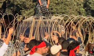"""""""الثنائي الشيعي"""" ممتعض من تهاون الجيش امام المتظاهرين!"""