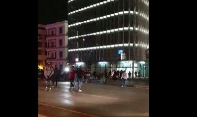 بالفيديو: شبان خندق الغميق يحتشدون على الرينغ