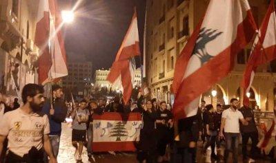 بالفيديو: مئات الثوار في رياض الصلح