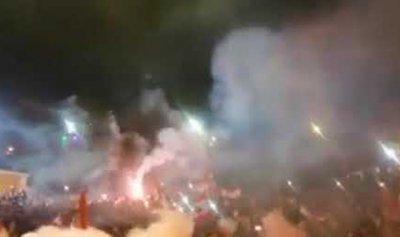 بالفيديو: طوفان بشري في سعدنايل