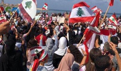 """""""ناشطو صور"""" تضامنوا مع كل ساحات الاعتصام في لبنان"""