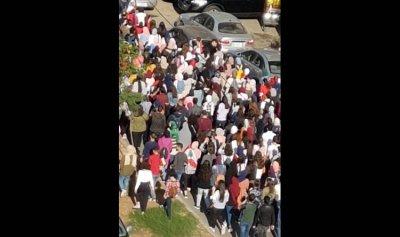 مسيرة طالبية جابت شوارع طرابلس