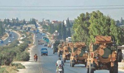 تعزيزات عسكرية تركية إلى إدلب